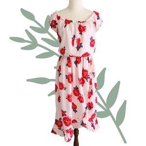 """ATMOS & HERE """"Tasha"""" Off Shoulder Floral Dress"""
